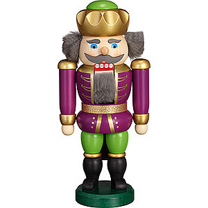 Nutcrackers Kings Nutcracker - Exclusive King Purple-Green - 20 cm / 7.9 inch