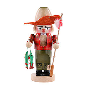Nutcrackers Hobbies Nutcracker - Fly Fisher - 30 cm / 11,5 inch