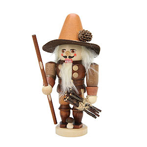 Nutcrackers Misc. Nutcrackers Nutcracker - Forest Man Natural Colors - 17,0 cm / 7 inch