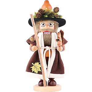 Nutcrackers Misc. Nutcrackers Nutcracker - Forest Man with Squirrel Natural - 41,5 cm / 16.3 inch