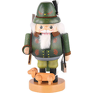 Nutcrackers Professions Nutcracker - Forest Ranger with Dachsdog - 21 cm / 8 inch