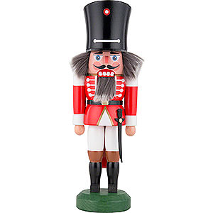 Nutcrackers Soldiers Nutcracker - Guard with Saber Red - 26 cm / 10 inch