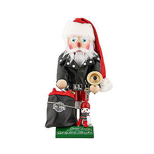 Nutcrackers Famous Persons Nutcracker - Harley Davidson Santa - Limited Edition - 35 cm / 13,8 inch