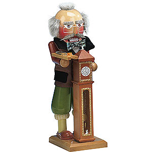 Nutcrackers Famous Persons Nutcracker - Hickory Dickory Dock - 40 cm / 16 inch - Limited Edition