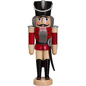 Nutcrackers Soldiers Nutcracker - Hussar - Ash - Red - 28 cm / 11 inch