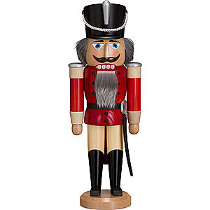 Nutcrackers Soldiers Nutcracker - Hussar - Ash - Red - 37 cm / 15 inch