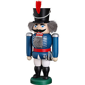Nutcrackers Soldiers Nutcracker - Hussar Blue - 20 cm / 8 inch