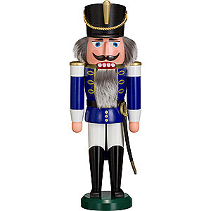 Nutcrackers Soldiers Nutcracker - Hussar Blue - 37 cm / 15 inch