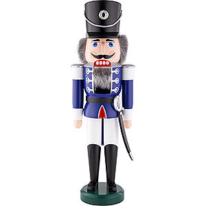 Nutcrackers Soldiers Nutcracker - Hussar Blue - 60 cm / 24 inch