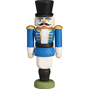 Nutcrackers Soldiers Nutcracker - Hussar Blue - 9 cm / 3.5 inch