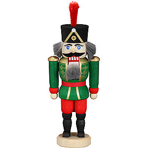 Nutcrackers Soldiers Nutcracker - Hussar Green - 12 cm / 4.7 inch