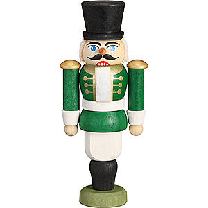 Nutcrackers Soldiers Nutcracker - Hussar Green - 9 cm / 3.5 inch