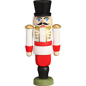 Nutcrackers Soldiers Nutcracker - Hussar White - 9 cm / 3.5 inch