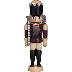 Nutcrackers Kings Nutcracker - King - Ash - Aubergine - 29 cm / 11 inch