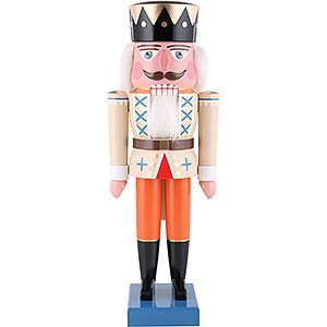 Nutcrackers Kings Nutcracker - King Beige - 35 cm / 13.8 inch