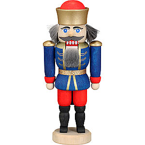 Nutcrackers Kings Nutcracker - King Blue - 12 cm / 4.7 inch