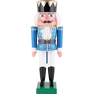 Nutcrackers Kings Nutcracker - King Blue - 36 cm / 14 inch