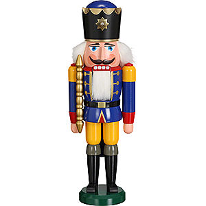 Nutcrackers Kings Nutcracker - King Blue - 38 cm / 15 inch