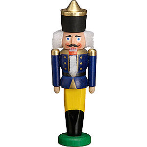 Nutcrackers Kings Nutcracker - King Blue - 9 cm / 3.5 inch