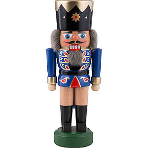 Nutcrackers Kings Nutcracker - King Dark Blue - 21 cm / 8.3 inch