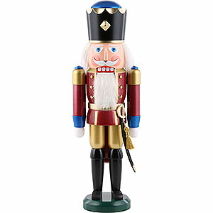 Nutcrackers Kings Nutcracker - King, Exklusive, Metallic Red - 39 cm / 15.4 inch