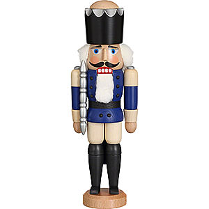 Nutcrackers Kings Nutcracker - King Glazed Blue - 29 cm / 11.4 inch