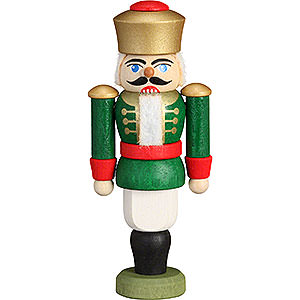 Nutcrackers Kings Nutcracker - King Green - 9 cm / 3.5 inch
