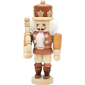 Nutcrackers Kings Nutcracker - King Natural Colors - 16,5 cm / 6 inch