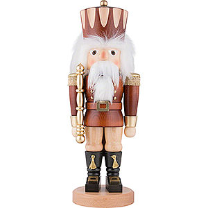 Nutcrackers Kings Nutcracker - King Natural Colors - 42,5 cm / 17 inch