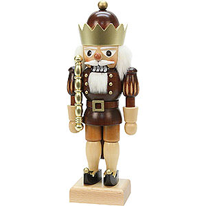 Nutcrackers Kings Nutcracker - King Natural Colors/Gold - 26,5 cm / 10 inch