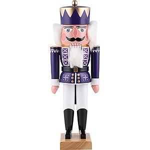Nutcrackers Kings Nutcracker - King Purple - 35 cm / 13.8 inch