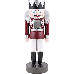 Nutcrackers Kings Nutcracker - King Red - 25 cm / 9.8 inch