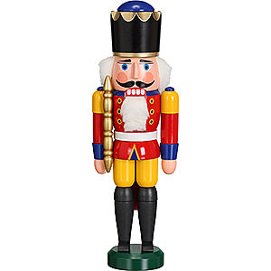 Nutcrackers Kings Nutcracker - King Red - 29 cm / 11 inch