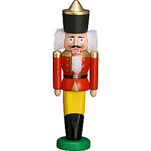 Nutcrackers Kings Nutcracker - King Red - 9 cm / 3.5 inch