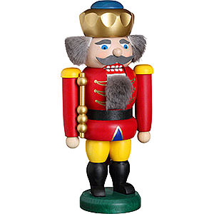 Nutcrackers Kings Nutcracker - King Rot - 20 cm / 8 inch