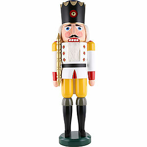 Nutcrackers Kings Nutcracker - King White - 100 cm / 39 inch