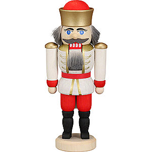 Nutcrackers Kings Nutcracker - King White - 12 cm / 4.7 inch
