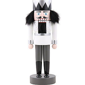 Nutcrackers Kings Nutcracker - King White - 25 cm / 9.8 inch
