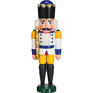 Nutcrackers Kings Nutcracker - King White - 29 cm / 11 inch