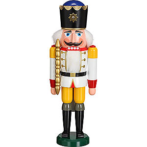 Nutcrackers Kings Nutcracker - King White - 38 cm / 15 inch