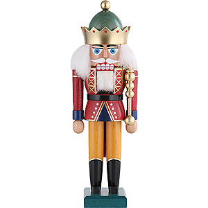 Nutcrackers Kings Nutcracker - King with Crown - 29 cm / 11 inch