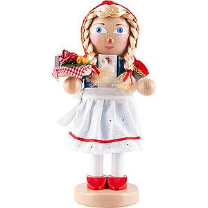 Nutcrackers Famous Persons Nutcracker - Litte Red Riding Hood - 30 cm / 11,5 inch