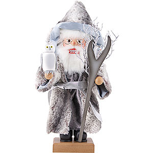 Nutcrackers Hobbies Nutcracker - Merlin Grey - Limited - 52,0 cm / 20.5 inch