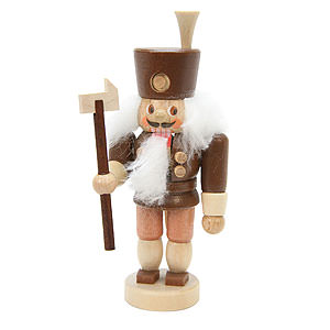 Nutcrackers Professions Nutcracker - Miner Natural Colors - 11 cm / 4 inch