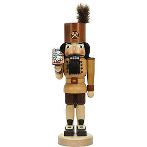 Nutcrackers Professions Nutcracker - Miner with Ore Box Natural - 42,5 cm / 16.7 inch