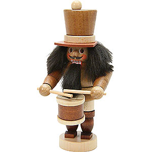 Nutcrackers Professions Nutcracker - Mini Drummer Natural Colors - 10,5 cm / 4 inch