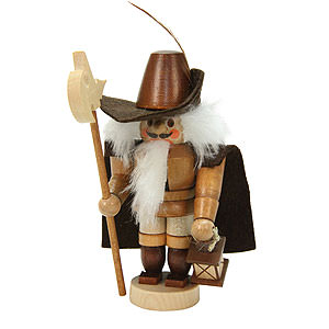 Nutcrackers Professions Nutcracker - Mini Nightwatchman Natural Colors - 12,0 cm / 5 inch