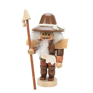 Nutcrackers Professions Nutcracker - Mini Shepherd Natural Colors - 10,5 cm / 4 inch