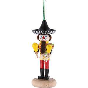 Nutcrackers Misc. Nutcrackers Nutcracker - Miniature Mexican - 14 cm / 5.51 inch