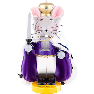 Nutcrackers Famous Persons Nutcracker - Mouse King - 30 cm / 11.5 inch - Limited Edition
